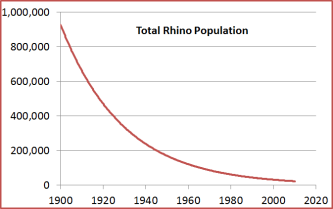 Rhino Population Graph