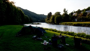 The campsite in Passau.