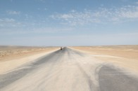 Flat, dry, dusty, windy, hot and seemingly endless.