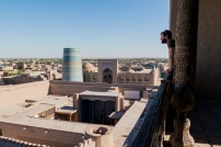 The ancient Silk Road city of Khiva