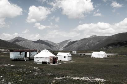The summit. 3200m. Ala-Bel Pass, Kyrgyzstan.