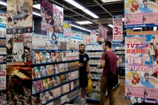 Great to see Matt McVicar again and have him show us around Tokyo. This is a strange place. Eight floors of Manga getting increasingly explicit as you go up the escalator. It's hard to make sense of it. Akihabara, Tokyo, Japan