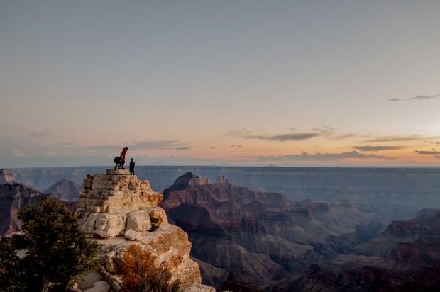 The ultimate 360 view. Grand Canyon, AZ, USA