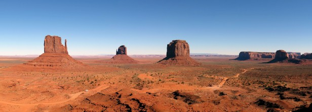 We were thinking of cycling through, but as you can see it's not really road bike friendly. Monument Valley, UT, USA