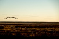 This basically sums up our experience of New Mexico. Lots of nothing. Fort Sumner, NM, USA